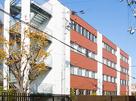 大阪成蹊女子高等学校 美術科専用校舎(美術棟)